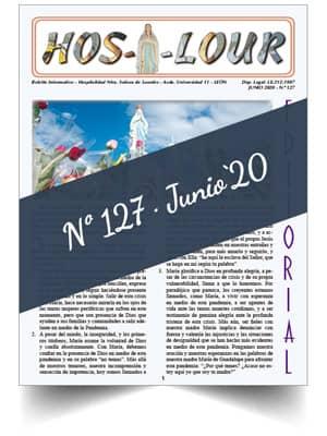 Muestra portada de la revista número 127 de la Hospitalidad de Ntra. Sra. de Lourdes (León)
