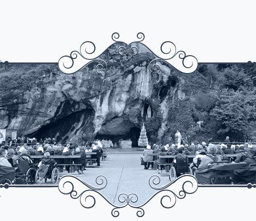 Muestra una instantánea de la peregrinación a Lourdes de la Hospitalidad de Ntra. Sra. de Lourdes (León)